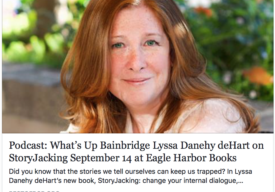Podcast: What's Up Bainbridge with Lyssa Danehy deHart